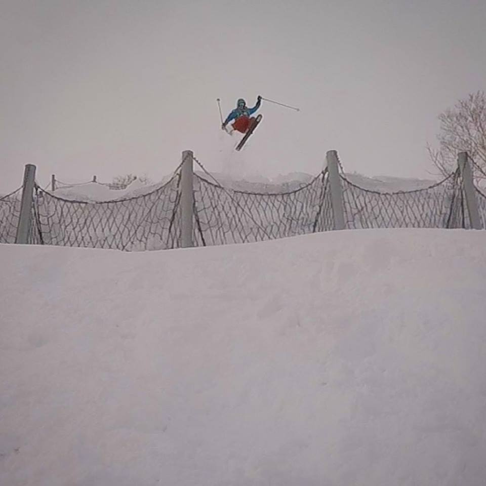 Shane Jones Japan grab ski